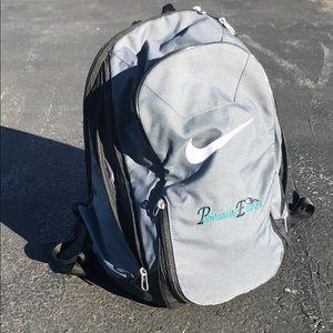 Grey Nike book bag